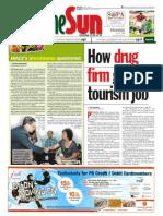 thesun 2009-07-20 page01 how durg firm got tourism job