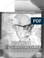 Proceso Del Capitalismo Venezolano - Domingo Alberto Rangel
