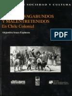 Alejandra Araya- Ociosos, Vagabundos y Malentretenidos en Chile Colonial