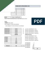 Calculos de Combinaciones en Excel