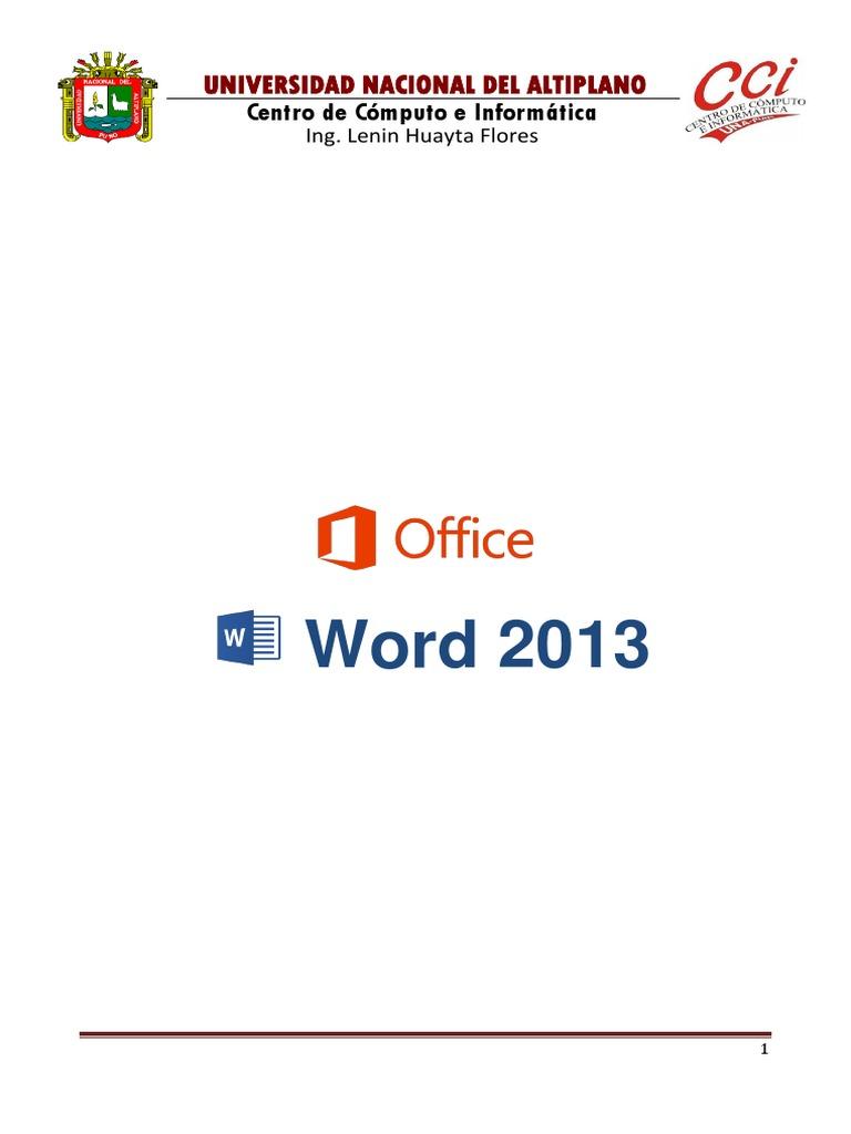 01 - Word Basico