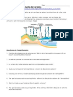Sciences 10F - Carbon Cycle Game Worksheet