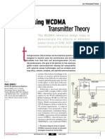 [MWRF0306] Tracking WCDMA Transmitter Theory