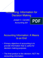 Ch. 1 - Accounting - Information for Decision Making