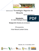 Ensayo unidad 2.Modelos de simulación
