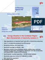 Energy Policy and Planning in Dominica and throughout the Caribbean