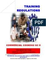 Commercial Cooking NC II