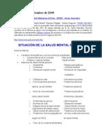 Situacion de La Salud Mental en El Peru. - Copia