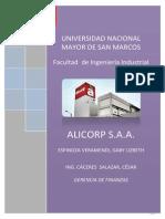 1°avance ALICORP-SAA