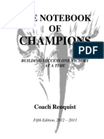 Notebook of Champions
