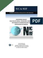 Normas Internacionales de Contabilidad NIC - NIIF