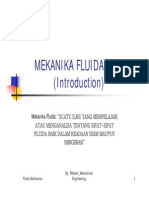 Mekanika Fluida (Mf Introduction Pp)