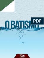 Batismo - J.C.ryle
