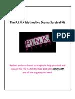 Pink Method No Drama Survival Kit PDF