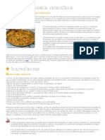 Receta Tradicional de La Paella Valenciana