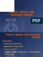 Lecture 3-Model, Theory in ET