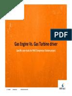 Gas Enginee vs Gas Turbine