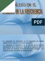 Analisis en El Dominio de La Frecuencia m