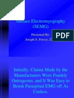 Surface Electrode Emg
