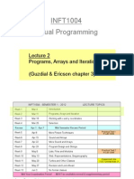 Inft1004_Lec2_ProgramsArraysIteration