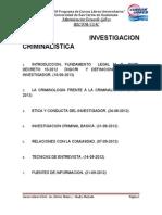 Cur So Sli Investigacion Criminalistic A