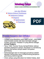 BAB XIII SIFAT GELOMBANG CAHAYA.ppt