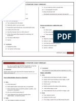 Literature Essay Formulae Form 4