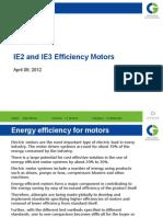 IE2 IE3 Motors