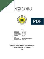 Fungsi Gamma