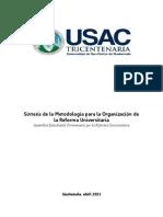 s+¡ntesis metodolog+¡a