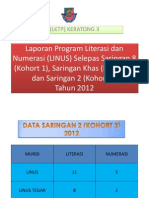 Laporan Program Literasi Dan Numerasi (LINUS) SKKT