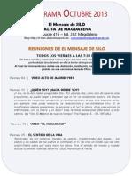 El Mensaje de SILO - Salita de MAGDALENA - Programa OCTUBRE 2013