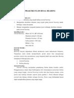 Laporan Journal Bearing