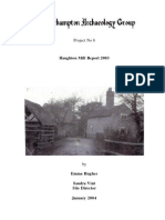 Survey of a 13th century mill at Haughton, Shifnal