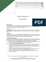 Manual de Instrucciones OBetha I