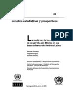 CEPAL_La medición de los objetivos de desarrollo del Milenio en las áreas urbanas de América Latina.pdf
