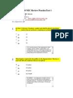 2008 NEC Review PracticeTest.docx