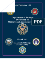 DOD Dictionary of Military Terms Jp1_02
