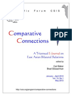 Analisis de Asia Enero Abril Comparative Connections