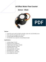 YF-S201 Hall Effect Water Flow Counter
