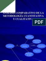 Comparación cuantitativa cualitativa