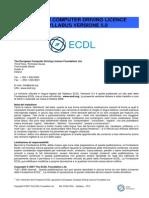 Syllabus 5 Ecdl Core Modulo 7