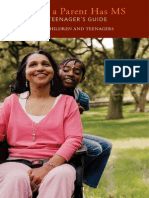 Brochure When A Parent Has MS - Teen's Guide