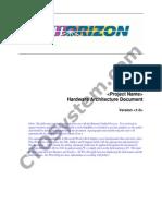 SDLC RUP Hardware Architecture Document