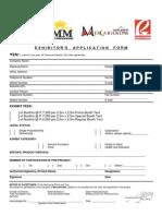 Exhibitors Application Form Mercatiendas 030812