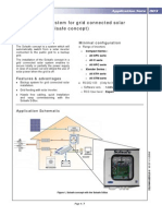 Anti-Blackout System for Grid Connected Solar Installations (Solsafe Concept) (en)
