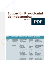 Educacion precolombina