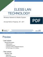 6 - Wireless LAN Technology