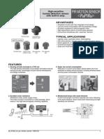 Pir Motion Sensor-PaPIRs