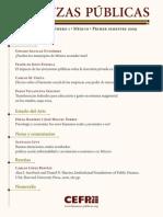 Finanzas Publicas No 1 - 2009
